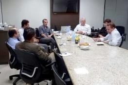 Diretor do 25º Distrito da FCDL/SC conduz reunião de alinhamento