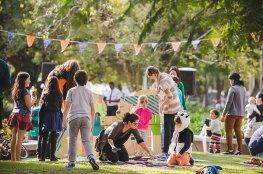 Praça Governador Celso Ramos recebe mais de 2,5 mil pessoas na Festa Julina no Eu amo a Praça
