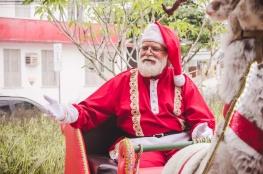 Papai Noel chegará de trenó na última edição do 'Eu Amo a Praça'