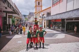 Festa de Natal é atração de sexta-feira (15) e sábado (16) no centro da Capital
