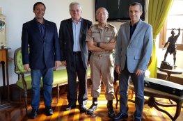 Coronel Araújo Gomes recebe CDL de Florianópolis e COMDES