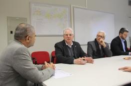 Comitiva do COMDES visita secretários de Infraestrutura e Planejamento do governo do Estado