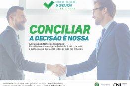 Poder Judiciário/SC promove a XIII Semana Nacional de Conciliação