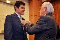 Marco dos Santos assume segundo mandato na CDL da Capital