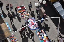 Empresários fecham as portas em protesto contra o comércio ilegal
