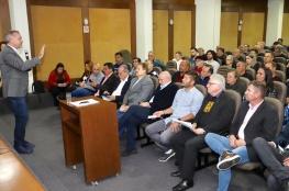 CDL de Florianópolis comemora assinatura do Pacote de Obras do Centro da Cidade e Região