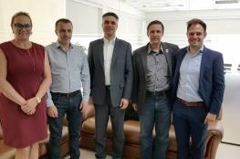 Presidente da CDL recebe os executivos da Floripa Airport